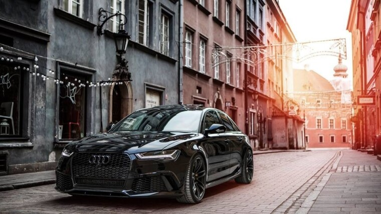 IMPRESIONANTE Audi RS6 Avant