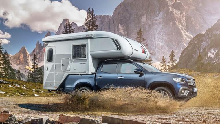 Transformación del Mercedes Clase X en una completa caravana